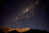 Moonlight and Milky Way Over Cochiguaz
