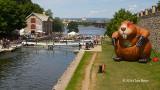 Ottawa Locks & The Giant Beaver