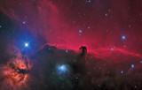 Horsehead Nebula (IC 434 / Barnard 33), Reflection Nebula (NGC 2023) and Flame Nebula (NGC 2024)