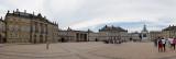 Amalianborg Palace panorama