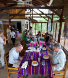 Lunch at Urraca Lodge