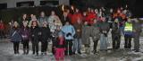 Fackelwanderung des FUN-Freizeitvereines, 1. Februar 2014