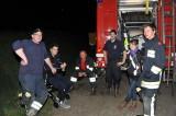 Die Feuerwehr bewacht