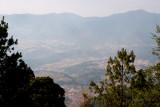 Vista Desde la Cumbre a Aldeas de Totonicapan