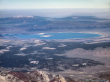 Mono Lake, Mt. Patterson, Bald Mountain, Rim Fire Smoke