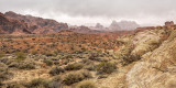Valley (of Fire) Obscured by Clouds