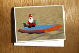 Boogie Board Santa