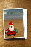 Santa on the Sand