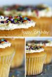 Happy Birthday Triptych