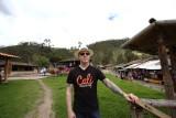 Don Nedo at Peguche waterfall