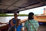 On our way to Koh Muk by longtail boat