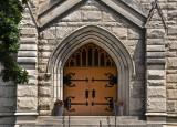 Church Entrance in Washington D.C.