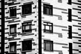 Windows in a Piano Building