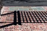 Shadow Lines Across Bricks