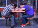 F. Botero's Sleeping Princes