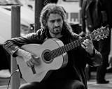 Street Guitarist in Melbourne