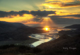 Mawddach estuary sunset