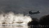 Chinook landing.