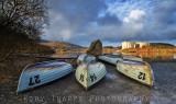 Fishing boats - Llyn Trawsfynydd