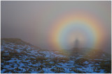 Brocken spectre. Taken this morning at Waun-Oer near Dolgellau