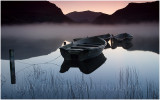 Fishing boats at Llyn Nantlle