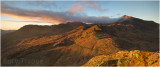 A three frame panoramic - Crib Goch