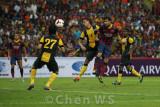 Cesc Fabregas scores