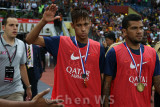 Neymar and Dani Alves