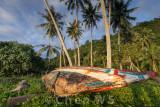 Old boat on Nirwana Beach