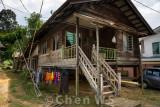 Old Bidayuh village house