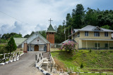 Anglican church established in 1916, where Christianity was introduced to the Bidayuh here.