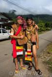 Bidayuh warriors