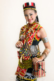 Bidayuh girl, Sarawak