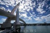 Valentine's Bridge, Tamsui Fishermen Wharf