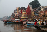 Varanasi's Old Quarters By The Ganges River (Sep13)