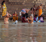 Life At The Ghats Along The Ganges River-3 (Sep13)