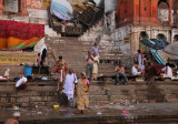 Life At The Ghats Along The Ganges River-5 (Sep13)