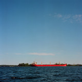 big freighter from Lake Ontario