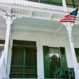 Formal porch
