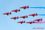 Red Arrows Air Show, 13 Nov 2013