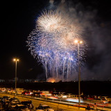 Oman National Day fire works Show 2013
