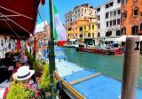 Venezia: always happy when it's time to eat!
