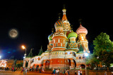 St. Basil's Cathedral,Moscow
