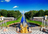 St.Petersburg Imperial Residence: Catherine Palace and Peterhoff Gardens