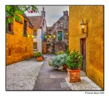 Colourful Courtyard