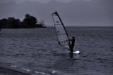 Wind Surfing at Biwa Lake