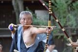 Ogasawara-ryu Kyudo Ceremony at Nashinoki Shrine
