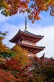 Kiyomizu Temple at Kyoto