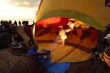 Crossing Lake Biwa Hot Balloon Match in Shiga