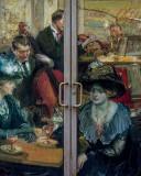The Door to Café Guerbois